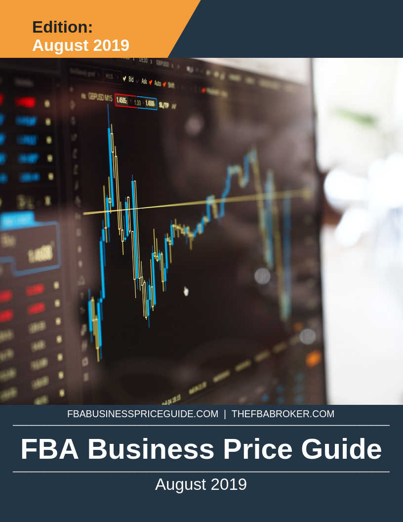 FREE August 2019 Report On Sold FBA Businesses